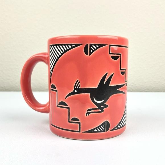 VTG Waechtersbach Orange Road Runner Ceramic Mug S